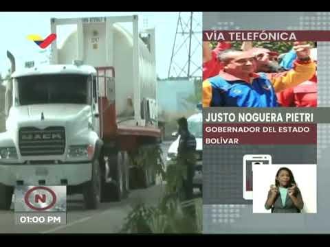 Llega a Brasil cargamento de oxígeno enviado por Venezuela para atender crisis en Manaos