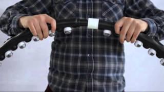 Массажный обруч для похудения на магнитах