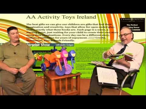 Feltoys.blogspot.ie feature on Business and Enterprise with Colm Colgan 4 11 2015