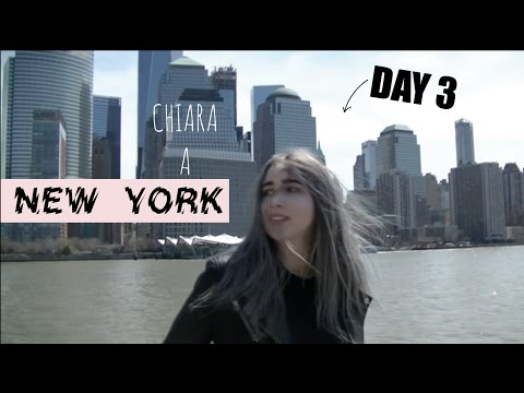 GIRO COMPLETO DI MANHATTAN... E RISTORANTE DI LADY GAGA! Chiara a New York || Day 3 Vlog