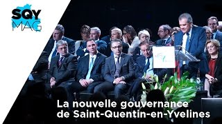 SQY Mag – La nouvelle gouvernance de Saint-Quentin-en-Yvelines
