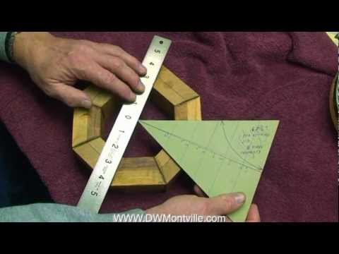 Measuring and Cutting a Segmented Ring