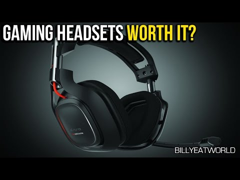 Gaming Headset vs Headphones & Mic - Are They Worth It? (BF4 Gameplay)