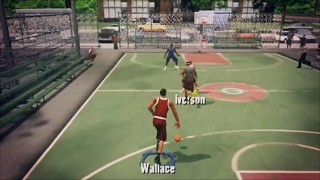 PLAYING NBA 2K3 ON THE PARK WITH NBA LEGENDS!!