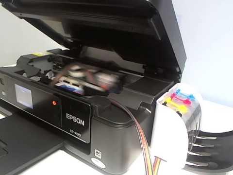 Continuous Ink System Ciss Epson Xp 400 Xp 200 Xp 300