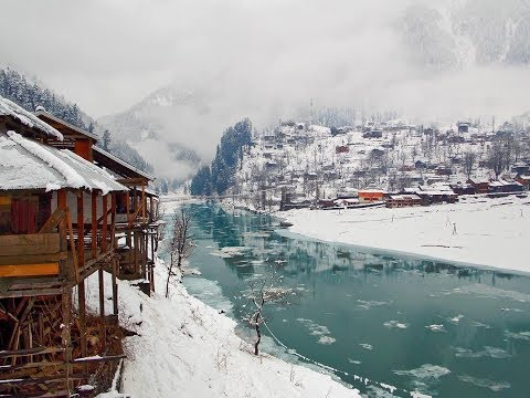 Neelam Valley During Snow Fall | Heaven on Earth