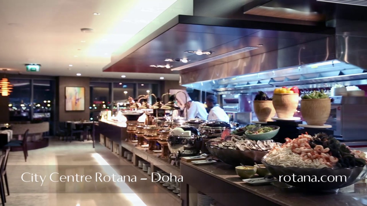 Restaurants City Centre Rotana Doha Qatar Youtube
