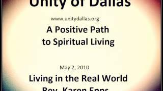 Living in the Real World, Rev. Karen Epps