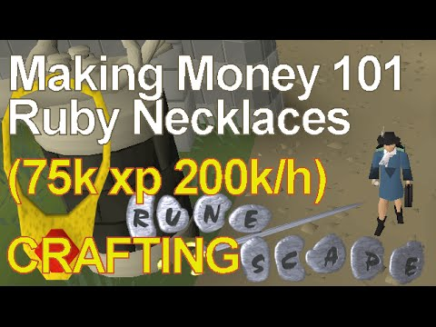 OSRS Crafting Guide 2018