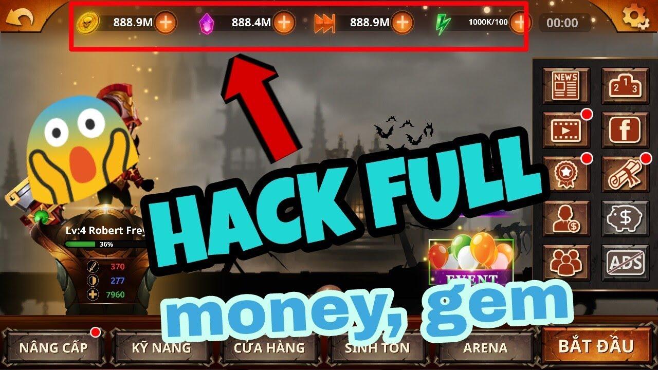 Tải Game Stickman legends Hack Full (Coins,Diamond,Stamina,…)