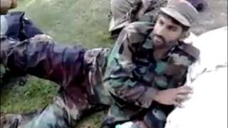 Brave Pakistani Soldier...still smiles after being Hit by several Bullets thumbnail