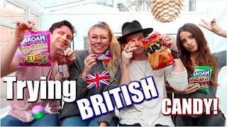 TRYING BRITISH CANDY!