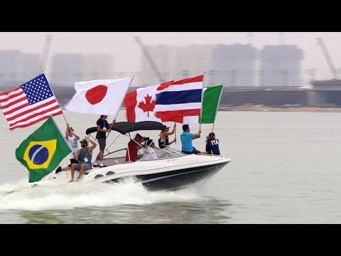 Wakeboard World Cup 2015 - Return to Linyi China