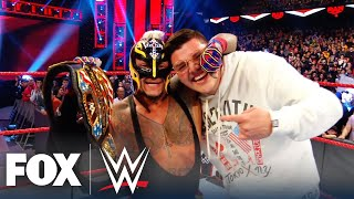Reaction to Rey Mysterio's memorable Survivor Series & US Title win | WWE BACKSTAGE | WWE ON FOX