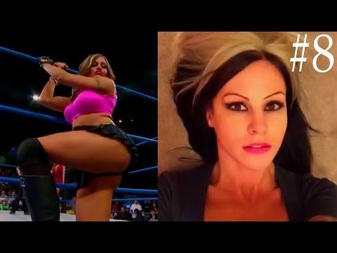 TNA Knockout Velvet Sky HOT Compilation - 8