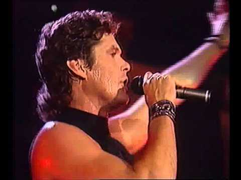 "David Hasselhoff  -  ""Sheltered Heart""  live 1990"