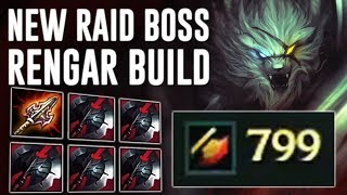 NEW ATMAS + 5 BLACK CLEAVERS TRANSCENDENCE = ( 822 AD 6000HP ) RAID BOSS RENGAR [ 100% NEEDS NERF ] Mp3