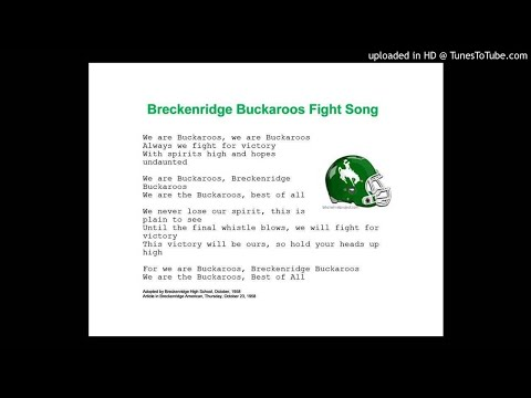 Fight Song - Breckenridge High School