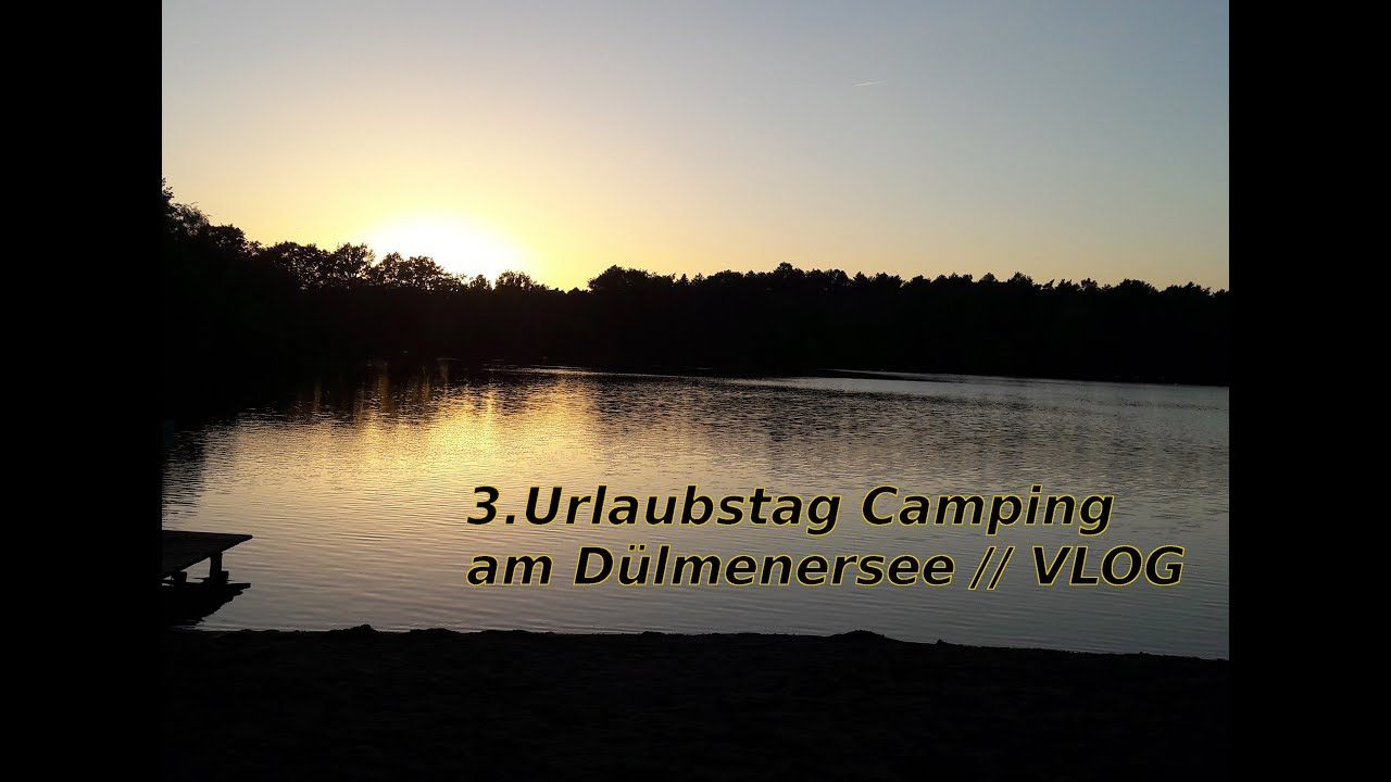 urlaub auf dem campingplatz am d lmenersee vlog. Black Bedroom Furniture Sets. Home Design Ideas