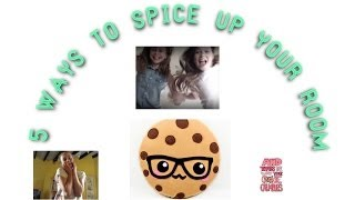 5 ways to spice up your room - CookieMunchCrunch Thumbnail