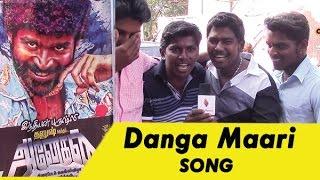 Danga Maari Song - Fans | Anegan | Dhanush | Harris Jayaraj