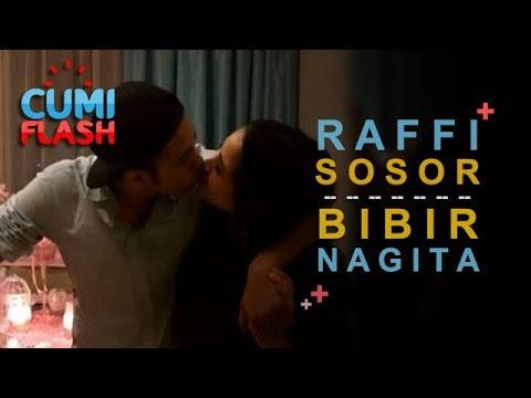 Upss! Raffi Ahmad Sosor Bibir Nagita Di Depan Umum - CumiFlash 15 Agustus 2017