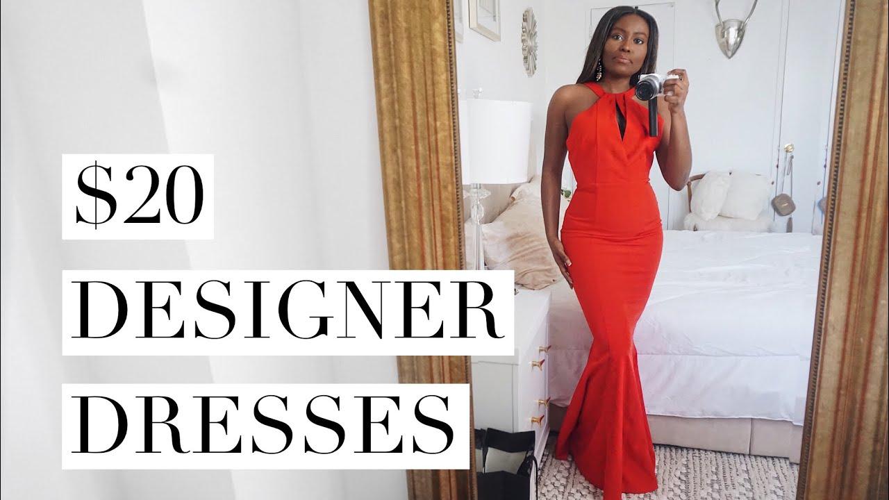 20 Designer Dresses