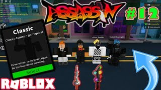 ROBLOX | ASSASSIN: CLASSIC #12 (SPRING SABER MIT FLOWERS GAMEPLAY W/ FRIENDS)