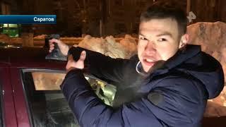 В Саратове пьяный таксист устроил заезд с пассажиром на крыше