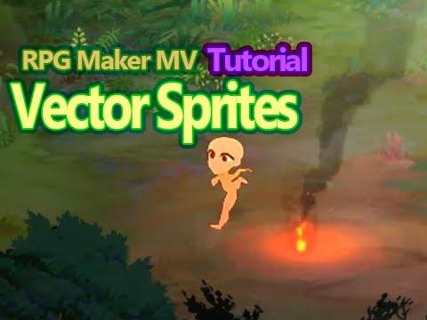 how to make rpg maker sprites