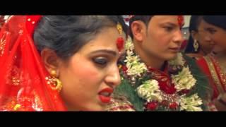 Aakriti Studio // ERICA WEDS RAJESH NEPALI WEDDING