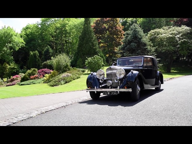FEATURED: 1938 Bentley 4.25L James Young Sedanca Coupe