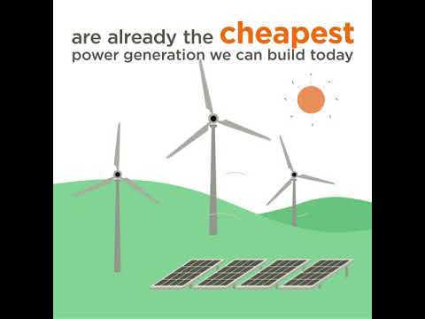 Keeping the lights on with renewable energy