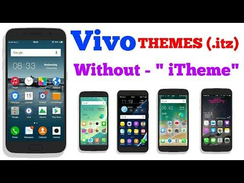 2017 How to change themes in VIVO phones y51l,y31l,y21l