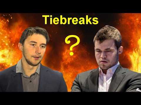 Magnus Carlsen vs Sergey Karjakin | 2016 World Chess Championship | Tiebreaks