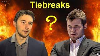 Magnus carlsen vs sergey karjakin | 2016 world chess championship | tiebreaks