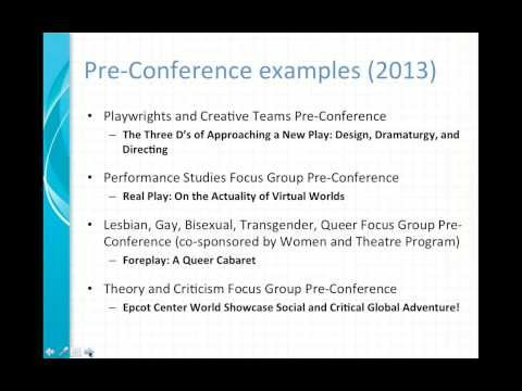 Plan an Outstanding Pre-  or Post-Conference