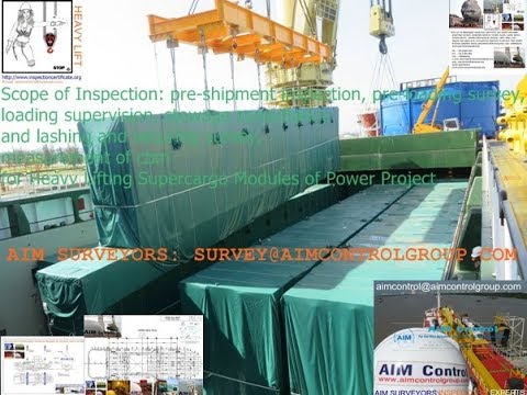Supercargo Project survey and inspection services