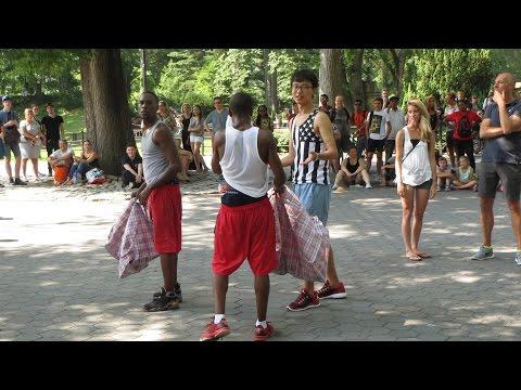Amazing street performers / Central Park straatartiesten / 18 july 2015 / New York / Manhattan