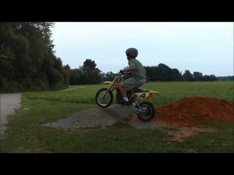 My Razor Electric MX-650 Dirtbike... Jumping, Tailwhips, Cross-ups, & Donuts ;-)
