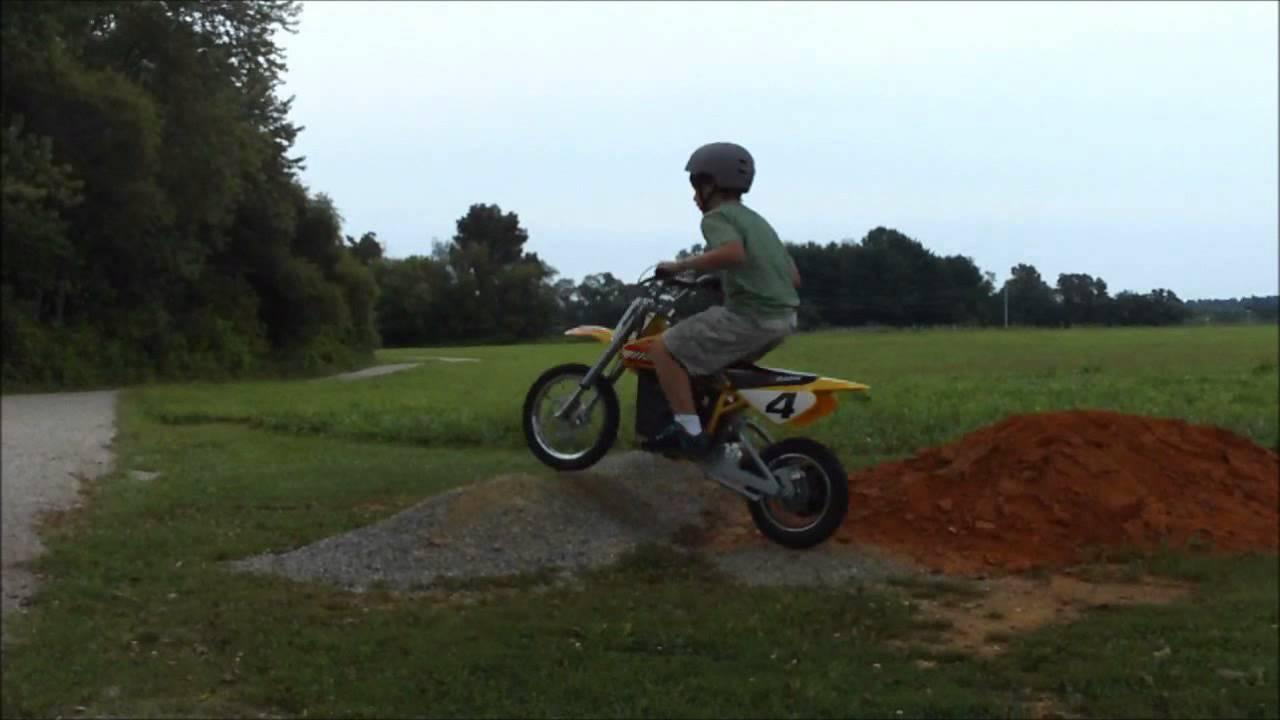 My Razor Electric Mx 650 Dirtbike Jumping Tailwhips