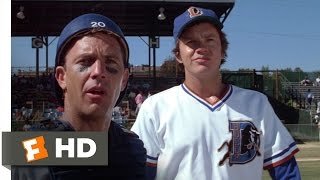 Bull Durham (4/12) Movie CLIP - Nuke Brings the Heat (1988) HD