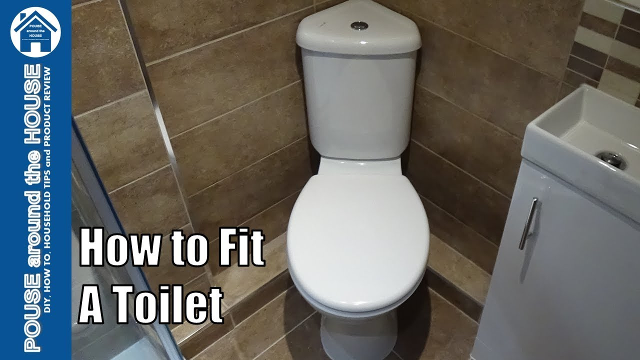 how to fit a toilet toilet installation and plumbing for beginners how to install a toilet toilet plumbing diagram to help install a [ 1280 x 720 Pixel ]