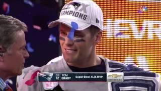 Superbowl 49 Patriots Trophy Presentation (2015) (HD)