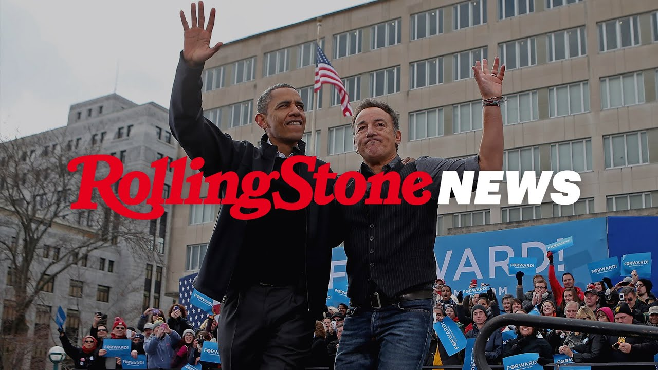 Barack Obama and Bruce Springsteen Announce Book 'Renegades: Born in the U.S.A.' | RS News 7/22/21
