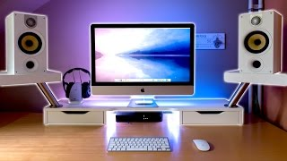 10 Ideas increíbles para tu escritorio - Como hacer mesa personalizada para PC Gaming (paso a paso)