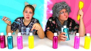Twin Telepathy Slime Challenge!! Ruby Rube VS Greedy Granny