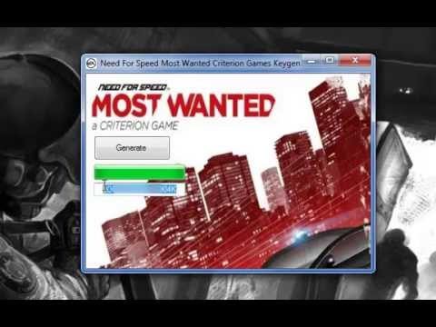 Need For Speed Most Wanted 2 Criterion Games Keygen and Crack