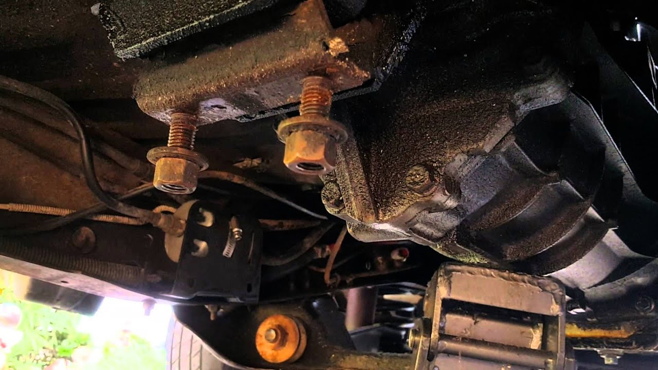 1993 ford ranger clutch and slave cylinder replace [ 1280 x 720 Pixel ]