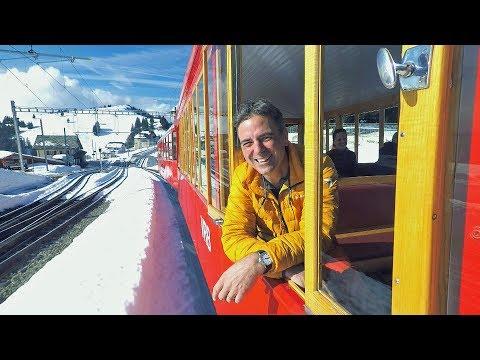 Real Rail Adventures:  Swiss Winter Magic Trailer